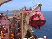 Raw Video: Ship's Lifeboat Drill Gone Terribly Wrong