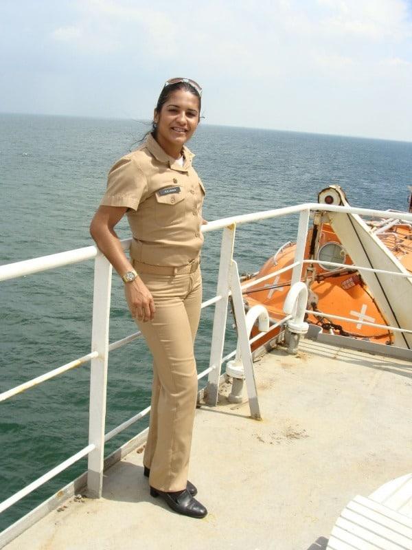 woman cheif engineer
