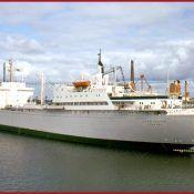 Nuclear propulsion ship