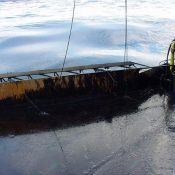 The Sweeping arm during the Prestige oil spill