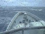 Our Youtube Video of the Day: When a Ship Confronts Monster Waves