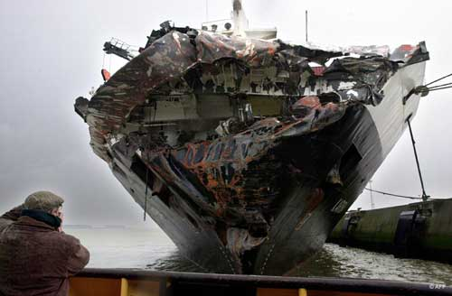 carac image 1 Worst Maritime Accidents: The Tricolor Cargo Ship Accident