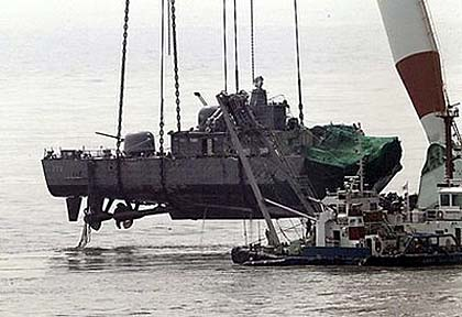 korea.ship .wreck100423afp420 Types of Marine Salvage