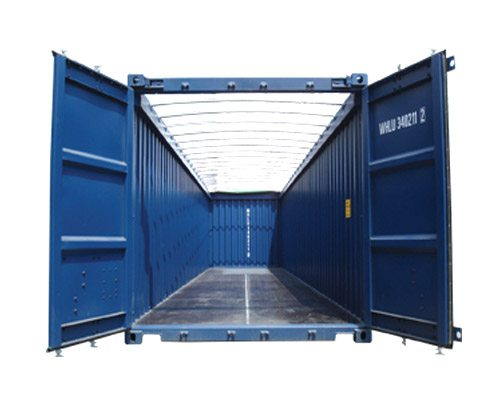 426s20  Open Top Container 16 Types of Container Units and Designs for Shipping Cargo