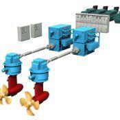 Tri-Fuel Diesel Electric Propulsion