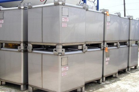 intermediate bulk container 350 gal 4 16 Types of Container Units and Designs for Shipping Cargo