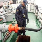 Receiving Marine Fuel