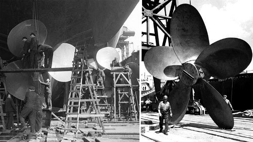 bismark 8 Biggest Ship Propellers in the World