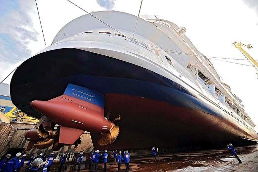 oasis of the sea 8 Biggest Ship Propellers in the World