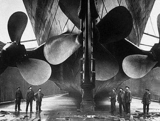 titanic 8 Biggest Ship Propellers in the World