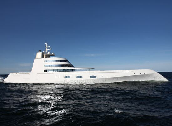 yacht01 Motor Yacht A  Is this the Most Unconventional Yacht?