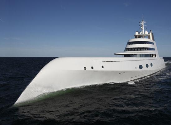 yacht02 Motor Yacht A  Is this the Most Unconventional Yacht?