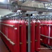 CO2 Fire fighting media