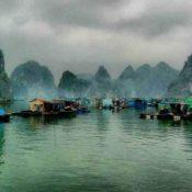 village-in-halong-bay-vietnam