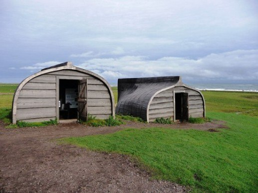 Holy Island of Lindisfarne Boating Sheds 10 Amazing Recycled Ship Houses