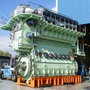 MAN 8S35ME engine
