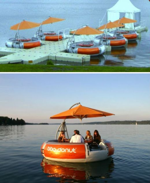floating restaurant tables  10 Amazing Floating Restaurants in the World