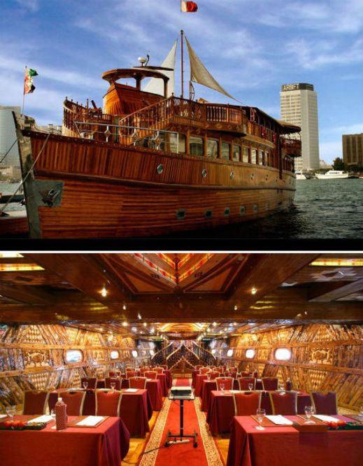 floating restaurants rustar dubai  10 Amazing Floating Restaurants in the World