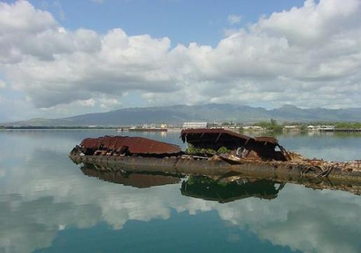 uss utah 10 Amazing Sunken Ships of the World