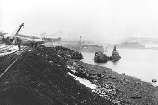 Mont blanc Cargo Ship Mont Blanc and the Halifax Explosion