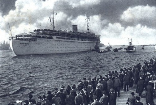 MV Wilhelm Gustloff2 Sinking of MV Wilhelm Gustloff  The Deadliest Maritime Disaster