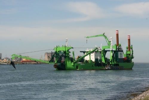 ambiorix12 Ambiorix: A Powerful Self propelled Cutter Suction Dredger