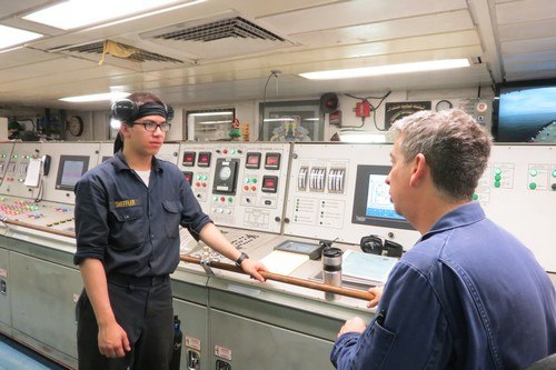 Procedure For Handing Over Engine Room Watch At Sea