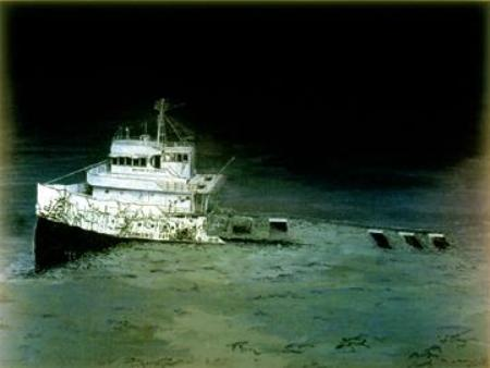 Great Lake Shipwreck Edmund Fitzgerald