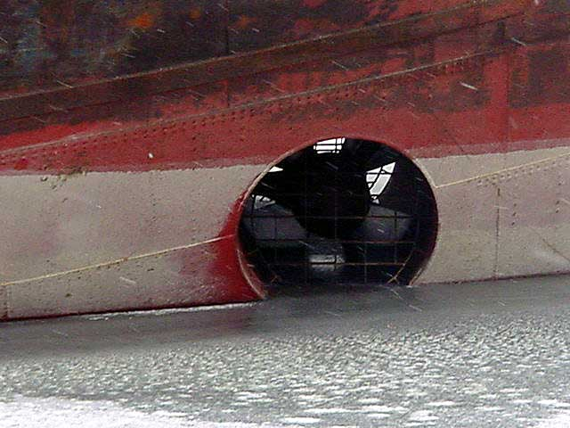 bow thruster of ships