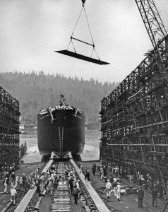 ship launch roller