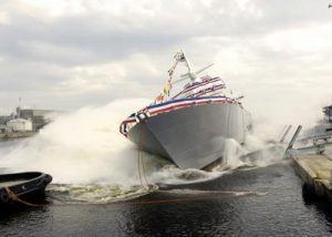 ship side launch