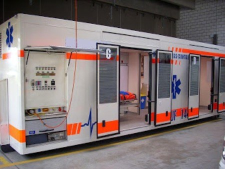 Emergency Hospital Container Top 26 Innovative Uses of Shipping Containers