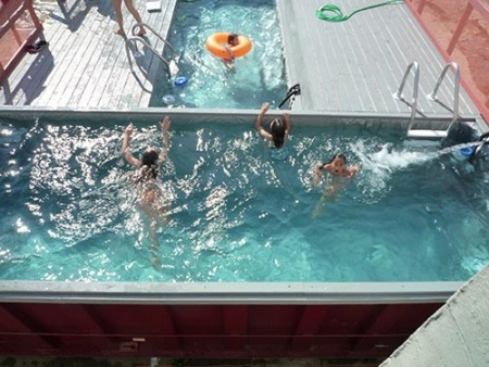Pool Top 26 Innovative Uses of Shipping Containers