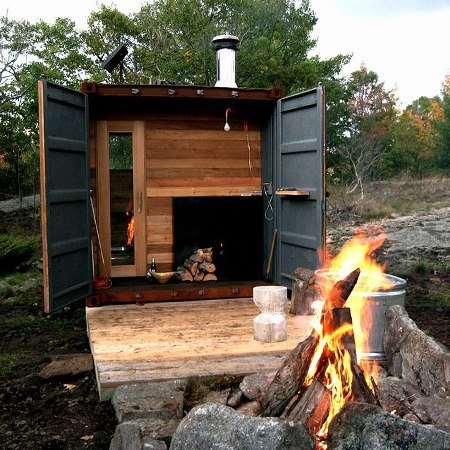 Sauna Top 26 Innovative Uses of Shipping Containers