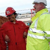 Seafarers enjoying