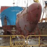 Five Maersk Line Vessels Get 'Nose Job'
