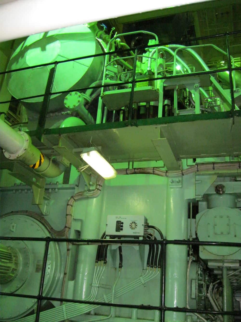 engine room machinery