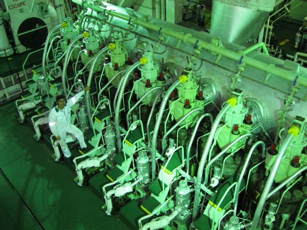 ship main engine