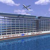 Freedom ship floating city design