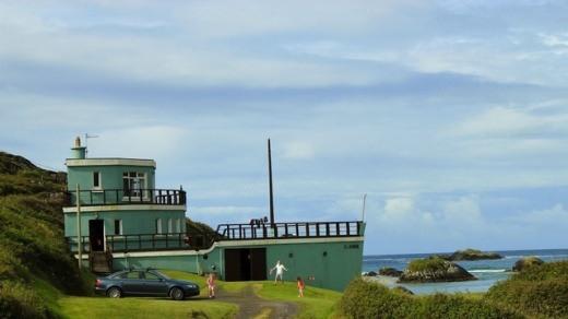 A Ship House in Derrynane Beach, Ireland