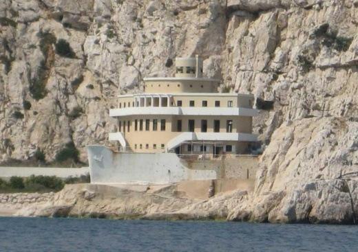 A villa in Marseille