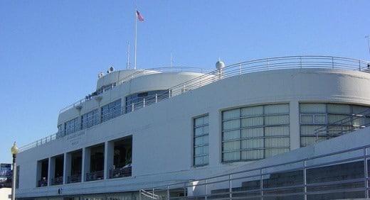 Aquatic Park Bathhouse Building (now the San Francisco Maritime Museum), San Francisco, California