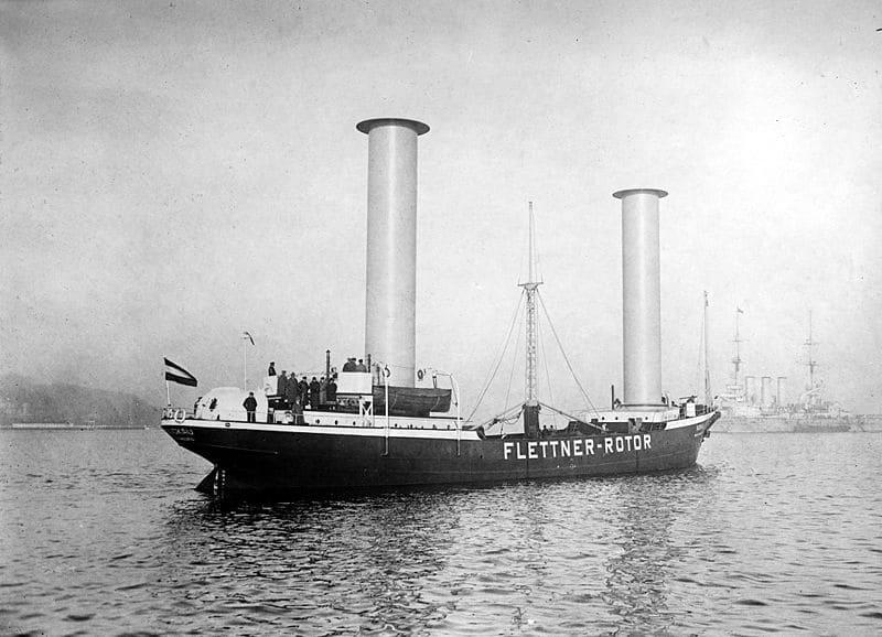 Buckau, Fletter Rotor Ship by Anton Flettner