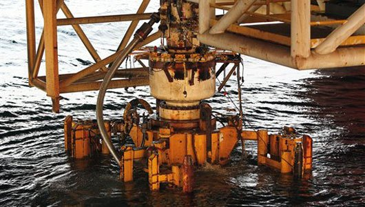 blowout preventer installed