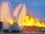General Procedure to Fight Fire on Tanker Ship in a Terminal