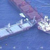 ship collision in Aegean sea