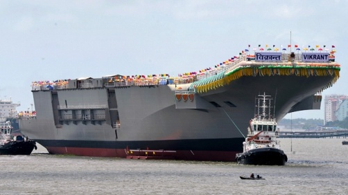 india-launches viikrant
