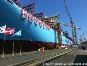 Exclusive Pictures: Maersk Triple E Vessels Under Construction