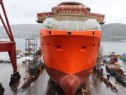 Video: Launching of Platform Supply Vessel (PSV) SALT 100