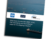 What Does The New ISO 28007, ICoC PSC Standards And Accreditation Mean For The Shipping Industry?
